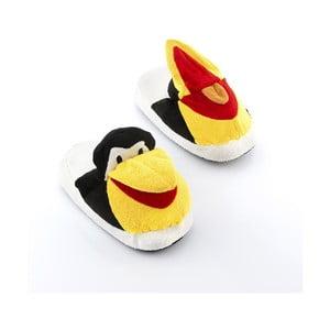 Detské papuče InnovaGoods Fluffy Slippers Penguin, veľkosť S