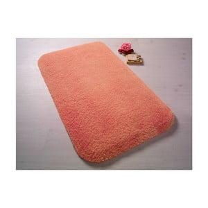 Oranžová predložka do kúpeľne Confetti Bathmats Miami, 50x57cm