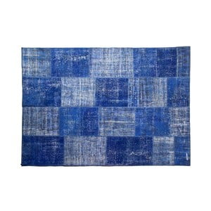 Vlnený koberec Allmode Blue, 150x80 cm