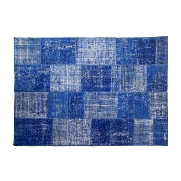 Vlnený koberec Allmode Blue, 200x140 cm