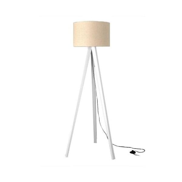 Stojacia lampa Tripod White/White