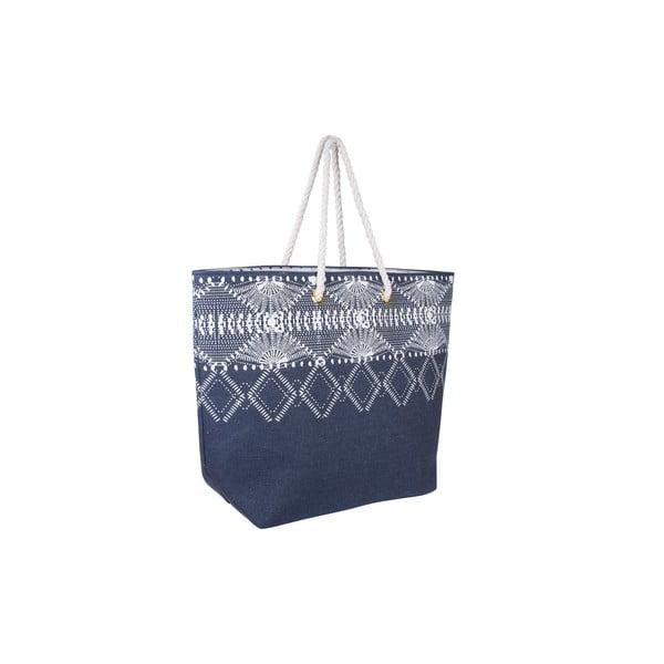 Plátená taška Tri-Coastal Design Blue Symbols
