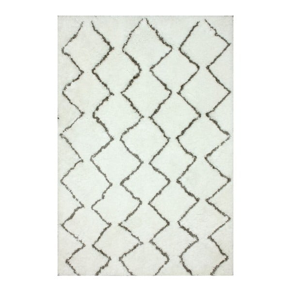 Ručne tuftovaný koberec nuLOOM Ziggy Natural, 106 x 168 cm