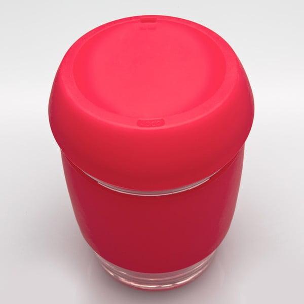 Eko hrnček na kávu Joco Cup 340 ml, červený