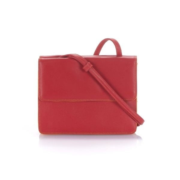 Kabelka Double Flap Red