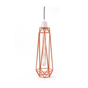 Oranžové stropné svietidlo Filament Style Diamond