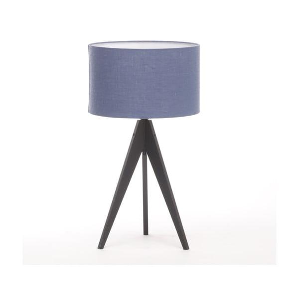 Stolná lampa Arist Dark Blue/Black