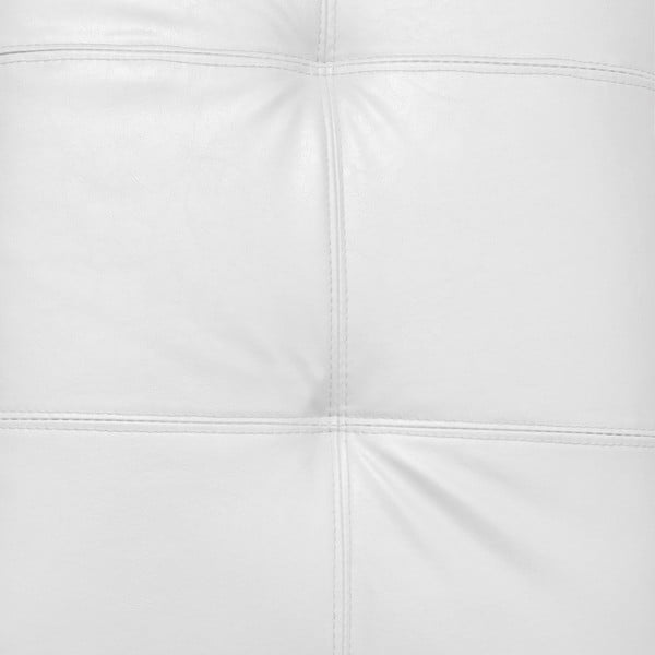 Biela taburetka s úložným priestorom Esidra Multi