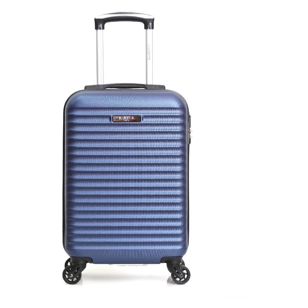 Modrý príručný kufor na kolieskách Bluestar Atlanta, 32 l