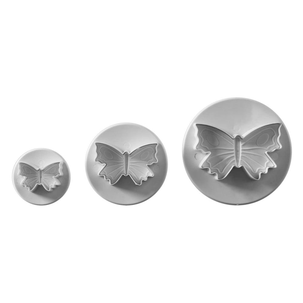 Sada 3 vykrajovadiel v tvare motýľa Mason Cash Cutters