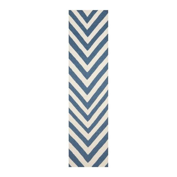 Vlnený koberec Serena, 76x182 cm