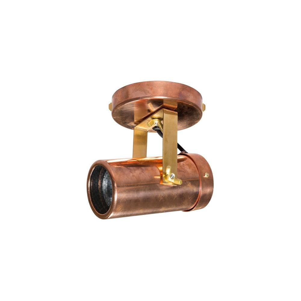 Nástenné svietidlo v medenej farbe Dutchbone Scope