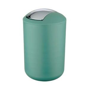 Zelený odpadkový kôš Wenko Brasil L, výška 31 cm