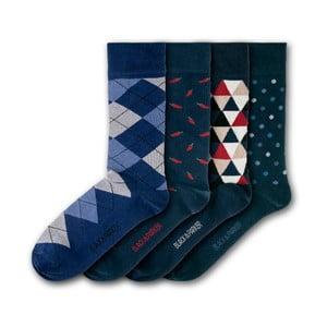 Sada 4 ponožiek Black&Parker London Chatsworth, veľkosť 37 – 43