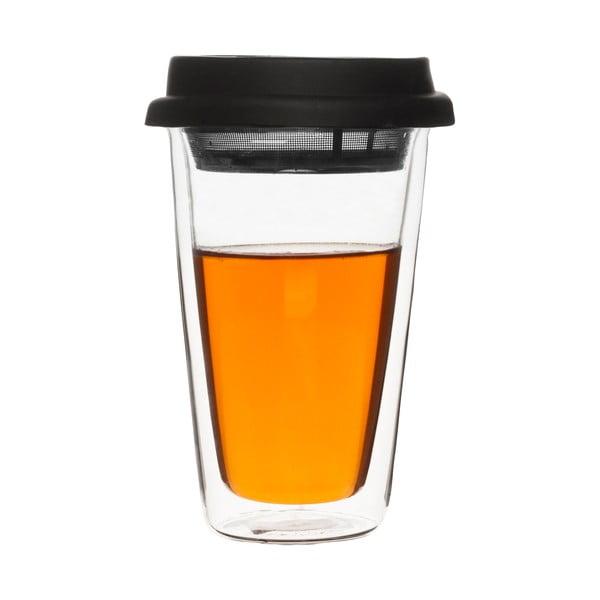 Dvojstenná termošálka s čajovým sitkom Clear