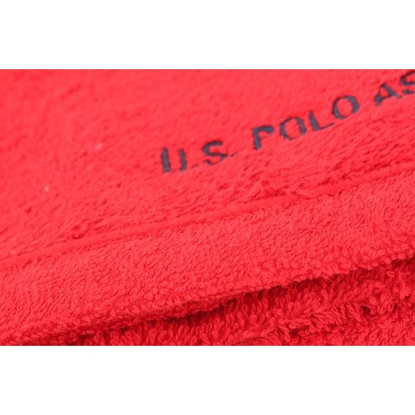 Uterák US Polo Hand Towel Red, 50x90 cm