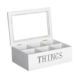 Krabička na čaj/šperkovnica Things