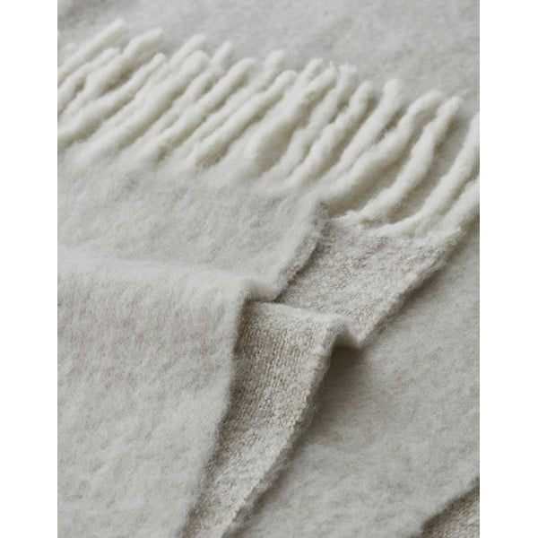Pléd Marc O'Polo Uni, 130x170 cm, krémový