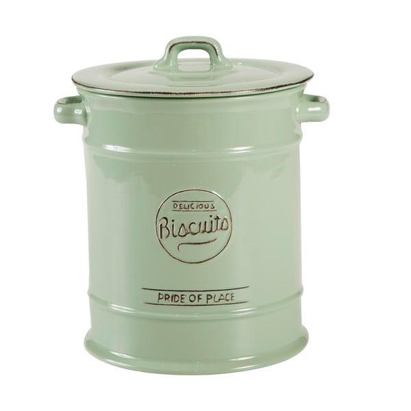 Zelená porcelánová dóza na sušienky T&GWoodware Pride of Place