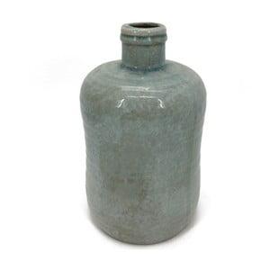 Sivozelená váza Moycor Tian, 31,5cm