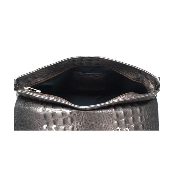 Kožená kabelka Cocco Patta Taupe