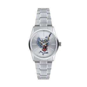 Dámske hodinky striebornej farby Zadig & Voltaire Rockstar