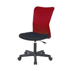 Červená kancelárska stolička SOB Officer