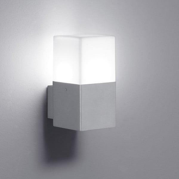 Záhradné nástenné svetlo Hudson Titanium, 17 cm