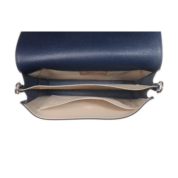Kožená menšia kabelka Moon Blue