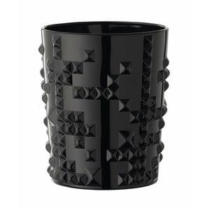 Čierny pohár z krištáľového skla Nachtmann Punk, 348 ml