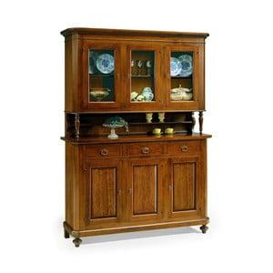 Šesťdverový drevený príborník Castagnetti Classico