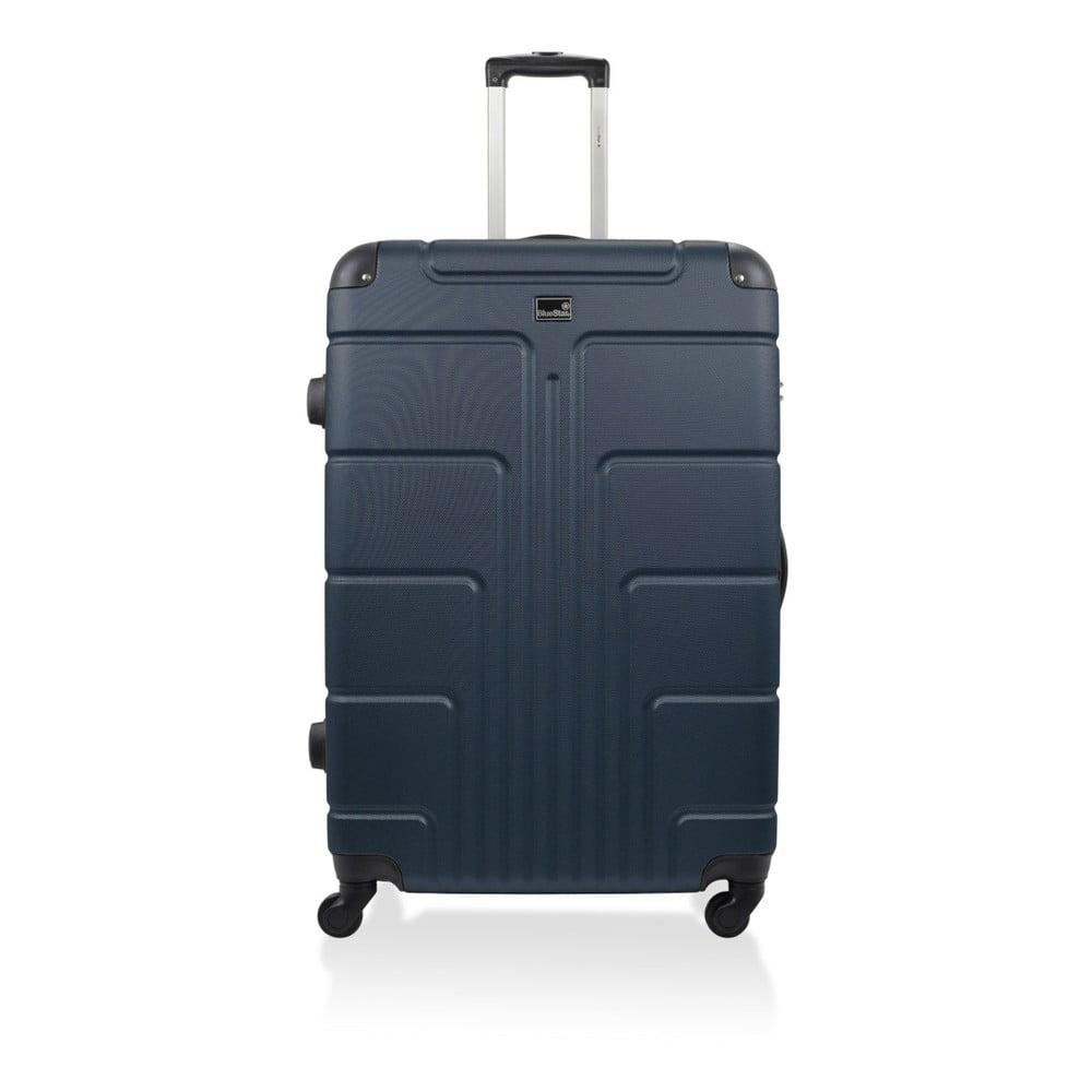 Tmavomodrý kufor na kolieskach Blue Star Ottawa, 60 l