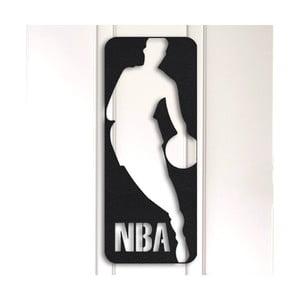 Kovová nástenná dekorácia NBA