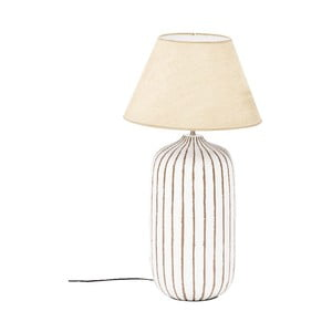 Stolná lampa Resina Cilindro, 80x26x26 cm