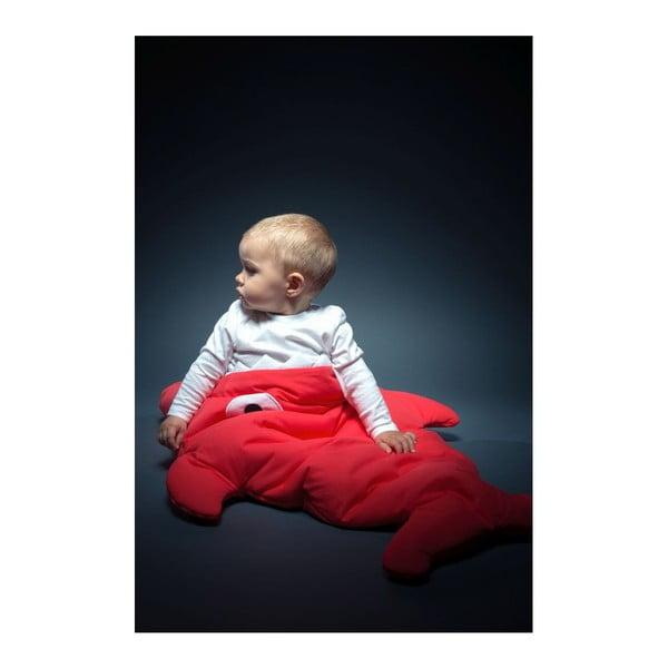 Detský spací vak Baby Bites Red with Polka Dots