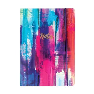 Zápisník A5 Portico Designs Inky Spash, 160stránok