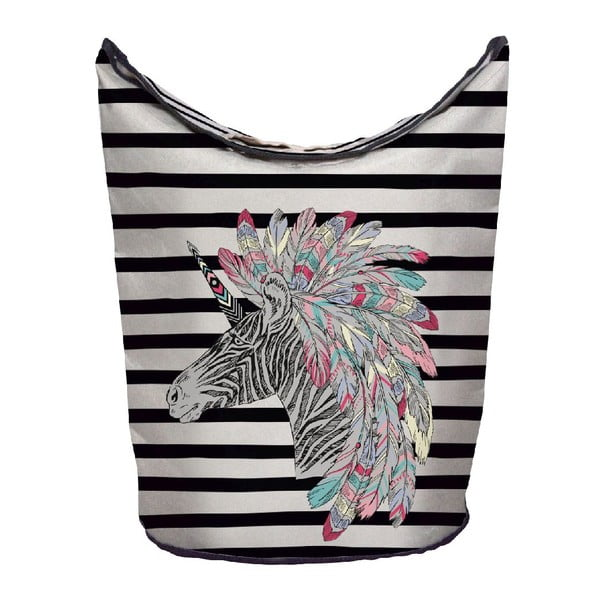Kôš na bielizeň Butter Kings Indian Zebra