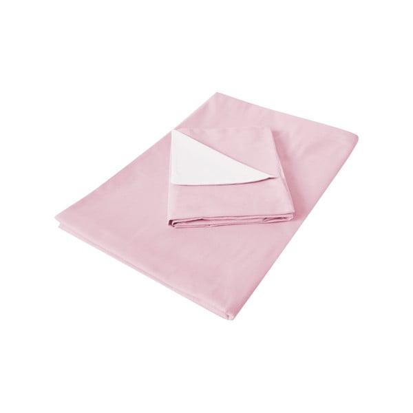 Ružové obliečky Hawke & Thorn Parker Simple, 150 x 200 cm + vankúš 50 x 60 cm