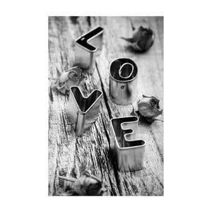 Obraz Black&White Love, 45 x 70 cm