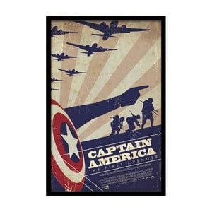 Plagát America, 35x30 cm