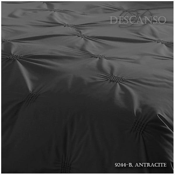 Obliečky Descanso Pure Antraciet, 200x200cm