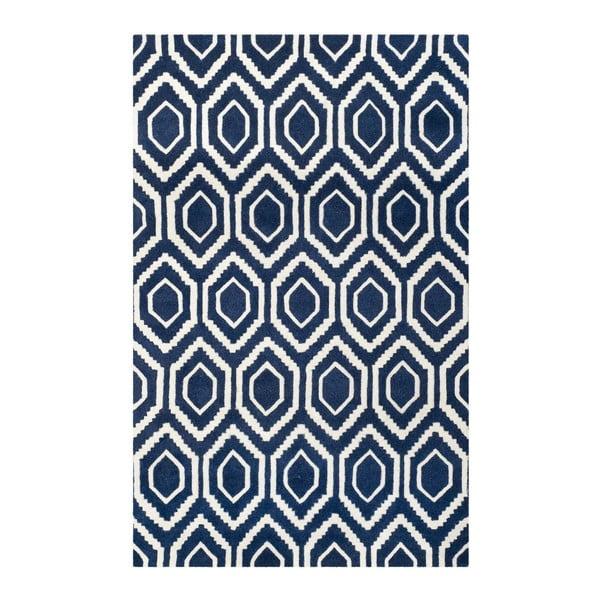 Vlnený koberec Essex Dark, 121x182 cm