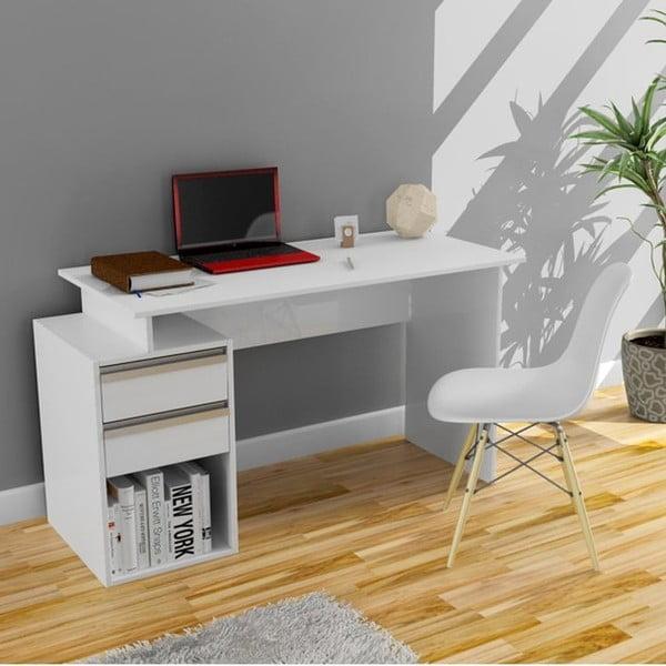 Pracovný stôl Feslegen White