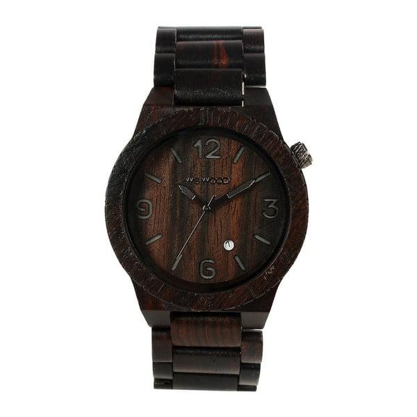 Drevené hodinky Alpha Black