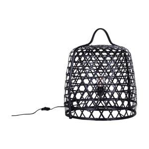 Stojacia bambusová lampa Canett Octavio, ⌀ 45 cm