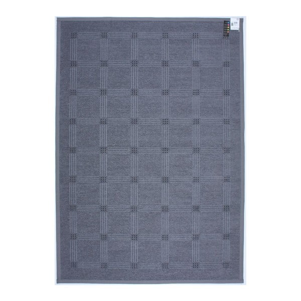 Koberec NW Grey/Black, 80x250 cm