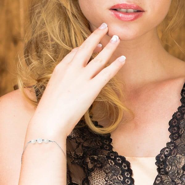 Náramok s riečnymi perlami Agathon
