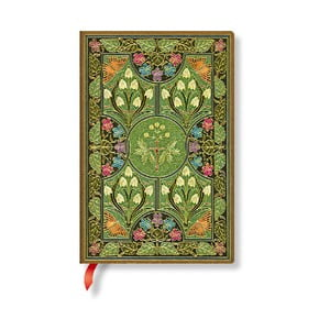 Linajkový zápisník s mäkkou väzbou Paperblanks Poetry In Bloom, 9,5 x 14 cm