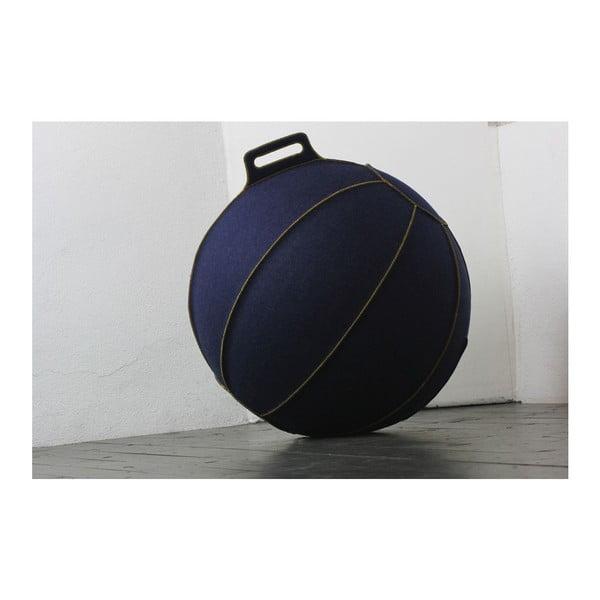Modrá plstená lopta na sedenie VLUV, 75cm