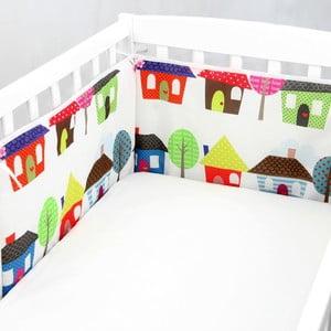 Výstelka do postieľky Happy Homes, 70x70x70 cm